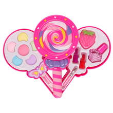 Princess Makeup Car Children's Makeup Toy Set Play House Cosmetics Pretend Play Toys Girls Makeup Training Kids Birthday Gift