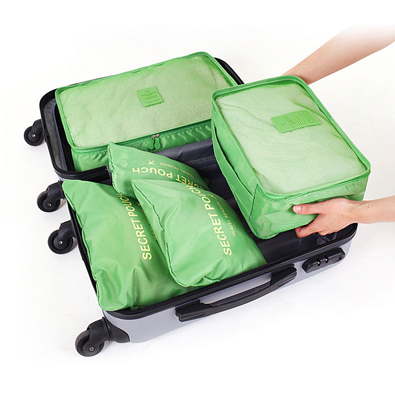 1 Set Travel Storage Bag High Capacity Clothes Tidy Pouch Luggage Organizer Portable Container Waterproof Storage Case VER.1