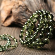 Authentic Natural ghost Popcorn Bracelet Female 6-12mm crystal Bracelets jewelry factory wholesale Rockcrystal dropship  baohua1 handmade authentic crystal bracelets