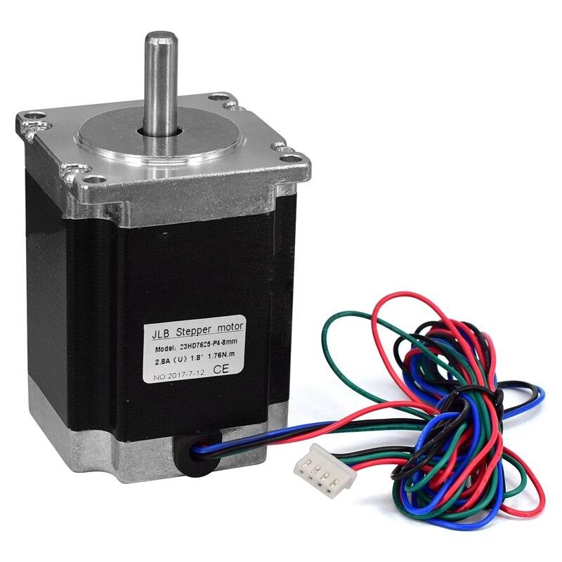 3D printer accessories 57 stepper motor /57BYGH76/76mm/3A 1.8N.m/ large torque