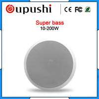 OUPUSHI VX10 SW high quality super bass Sub ceiling peakers home theater system overhead speakers embedded pull ah Wall Speakers