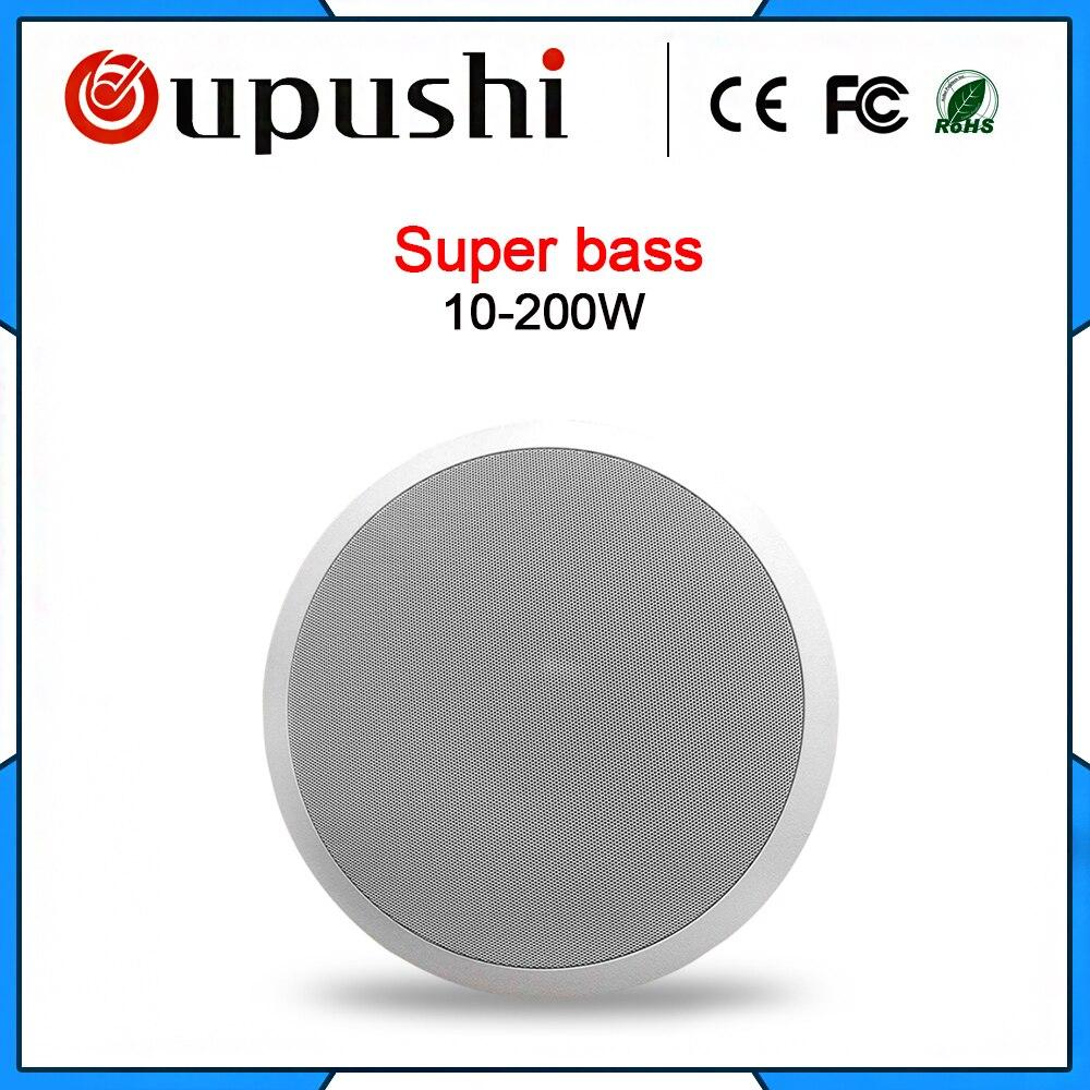 Oupush i VX10-SW haute qualité super basse sous plafond peakers système de cinéma maison haut-parleurs aériens intégrés tirer ah haut-parleurs muraux
