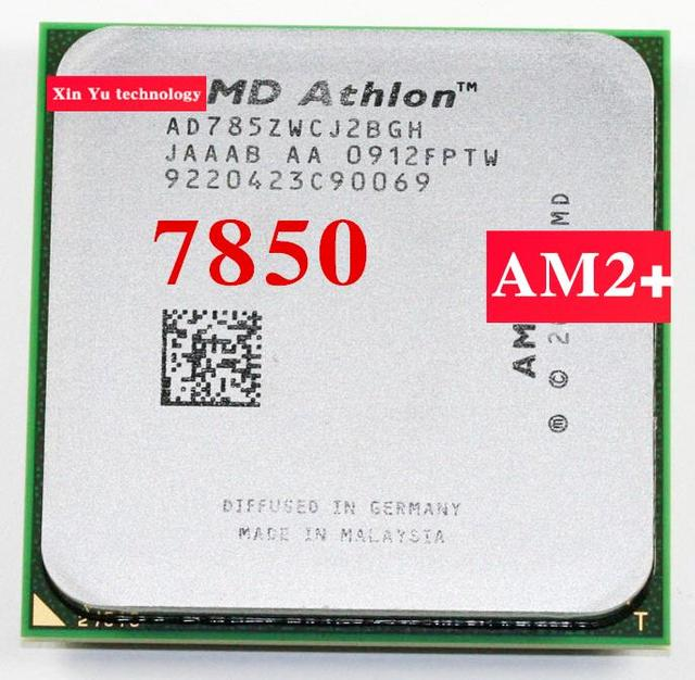 Lifetime warranty Athlon X2 7850 2.8GHz 2M Dual Core desktop processors AD785Z CPU Socket AM2+ 940 pin Computer