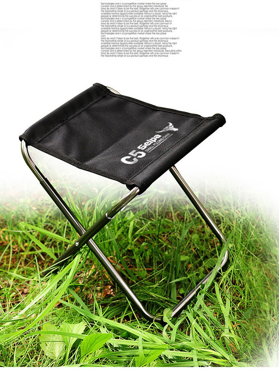 Image 5 - Camping Fishing Chair Children Mini C4 Folding Kamp Sandalyesi Foldable Outdoor Sillas de playa Stool Portable Silla Beach Bench-in Fishing Chairs from Sports & Entertainment