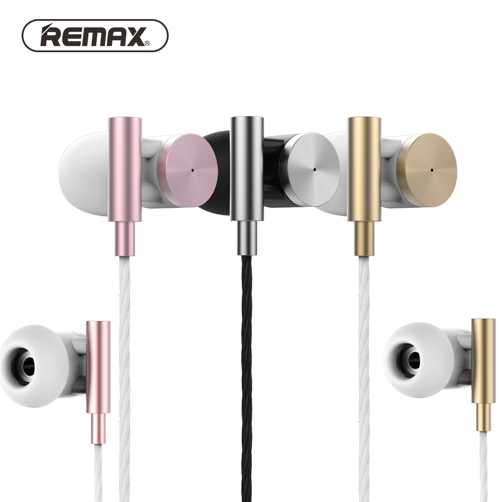 Remax 530 Balanced super pass Metal HiFi Stereo Sound Music Earbud Headset audifonos for iPhone Xiaomi Mp3 fone de ouvido bluetooth earphone headphone for iphone samsung xiaomi fone de ouvido qkz qg8 bluetooth headset sport wireless hifi music stereo