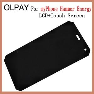 Image 2 - OLPAY 5.0 חדש מקורי עבור myPhone פטיש אנרגיה נייד LCD תצוגה + מסך מגע Digitizer עצרת החלפת זכוכית