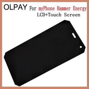 Image 2 - OLPAY pantalla LCD de 5,0 pulgadas para móvil, montaje de digitalizador con cristal de repuesto, para myPhone Hammer Energy