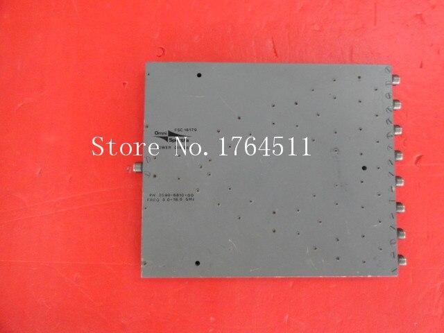 [BELLA] A Eight M/A-COM Power Divider 2090-6810-00 8-18GHz SMA