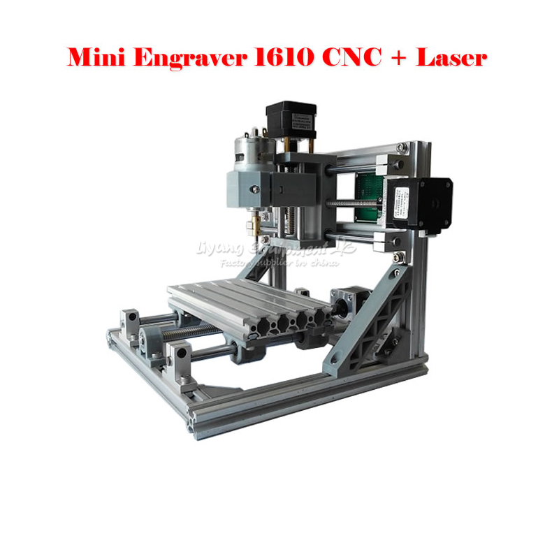 Russia no tax Diy cnc 1610 machine Pcb Pvc Milling Machine,2 in 1 Wood Carving machine,mini cnc router,cnc1610,GRBL control cnc 1610 with er11 diy cnc engraving machine mini pcb milling machine wood carving machine cnc router cnc1610 best toys gifts
