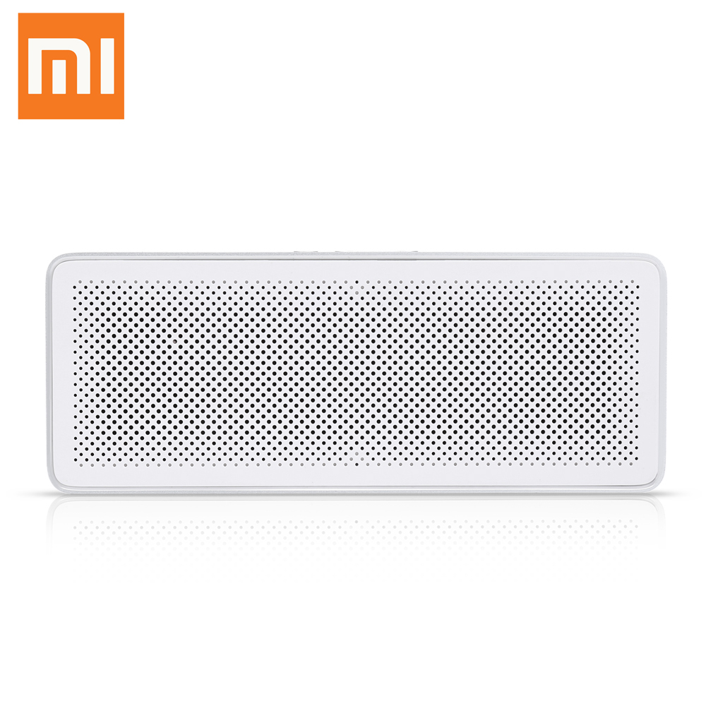 Xiaomi Square Box 2 Probable Speaker Hands-Free Bluetooth 4.2 Loudspeaker Wireless Soundbox 1200mAh Loudspeaker Support AUX MIC vontar bt001 fashion wireless speaker led touch control colorful night light hands free aux and portable bluetooth speaker