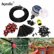 25 м сад DIY автоматический полив микро капельного орошения системы сад самополива наборы с Регулируемый полив # 21025I