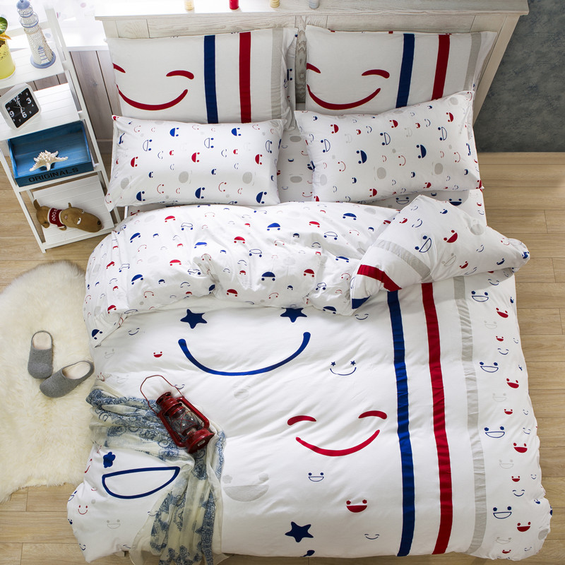 2016 High Quality 100% Cotton Bedding Set Stripe Bed Sheet Set for Kids Gift Bedding Set Queen/King/Twin Size 4PCS Bedding Set2016 High Quality 100% Cotton Bedding Set Stripe Bed Sheet Set for Kids Gift Bedding Set Queen/King/Twin Size 4PCS Bedding Set