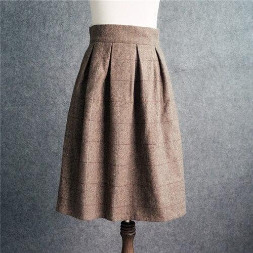 Миди юбки классические