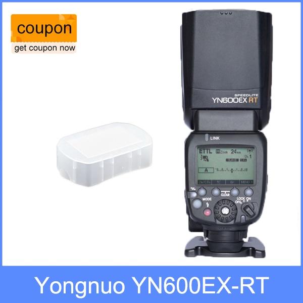 YONGNUO Вспышка Speedlite YN600EX-RT для Canon как 600EX-RT 2.4 Г Беспроводной HSS 1/8000 s Ведущая Вспышка Speedlite
