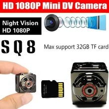 8GB Card+Mini Camera DVR Loop Video Recorder Infrared Night Vision DV Full HD 1080P Webcam Motion Detect