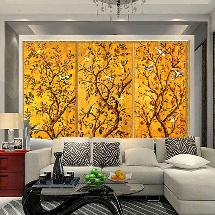 Excellent Aliexpress Com Buy Vintage Wallpaper Custom 3D Wall Murals Bird Largest Home Design Picture Inspirations Pitcheantrous