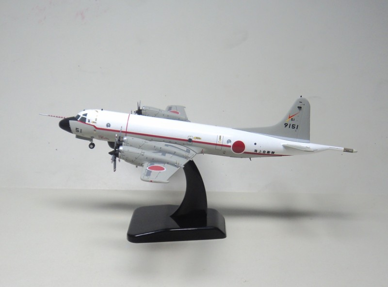 Hogan 1:200 UP-3C, the Japanese Maritime Self Defense Force anti submarine reconnaissance aircraft model