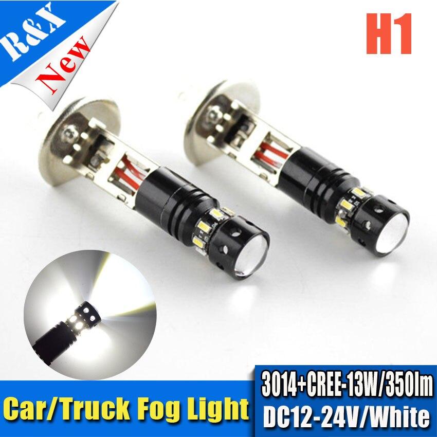 2шт/много автомобилей T10 Н1 Н3 3014 и SMD xbd автомобиля 5W светодиодные Ксеноновые Белый туман Луч вождения голова свет лампы лампы 12В 24В