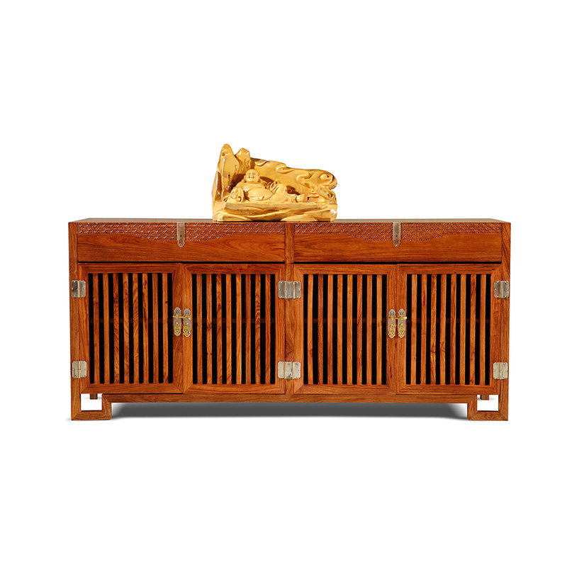 Us 30000 Antique Wooden Plain Four Door Sideboard Hedgehog Rosewood Dining Room Furniture Classical Drawers In Sideboards From Furniture On