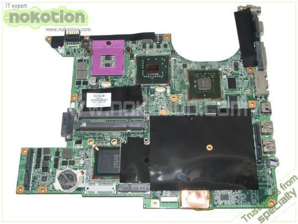 NOKOTION 461069-001 LAPTOP MOTHERBOARD for HP PAVILION DV9000 DV9700 DV9800 INTEL PM965 NVIDIA G86-771-A2 DDR2 Mainboard 1pcs lot nvidia g86 630 a2 integrated chipset 100