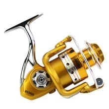 Fishing Spinning Reel Gear Ratio 5.2:1 Bearing 9+1 Aluminum Alloy Spool Model 2000-5000 High Quality