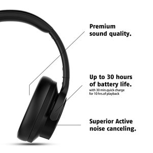 Image 3 - Mixcder E9 гарнитура с активным Шумоподавлением беспроводные Bluetooth наушники с микрофоном ANC Bluetooth наушники с глубокими басами