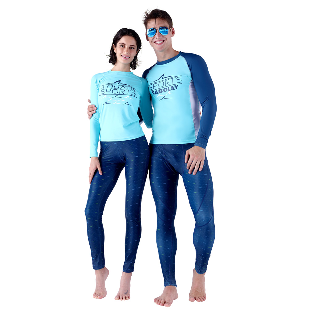 2017 hot sell rashguard SABOLAY Speed dry clothing free diving wetsuit Sun protection swimsuitscuba diving suit 6729