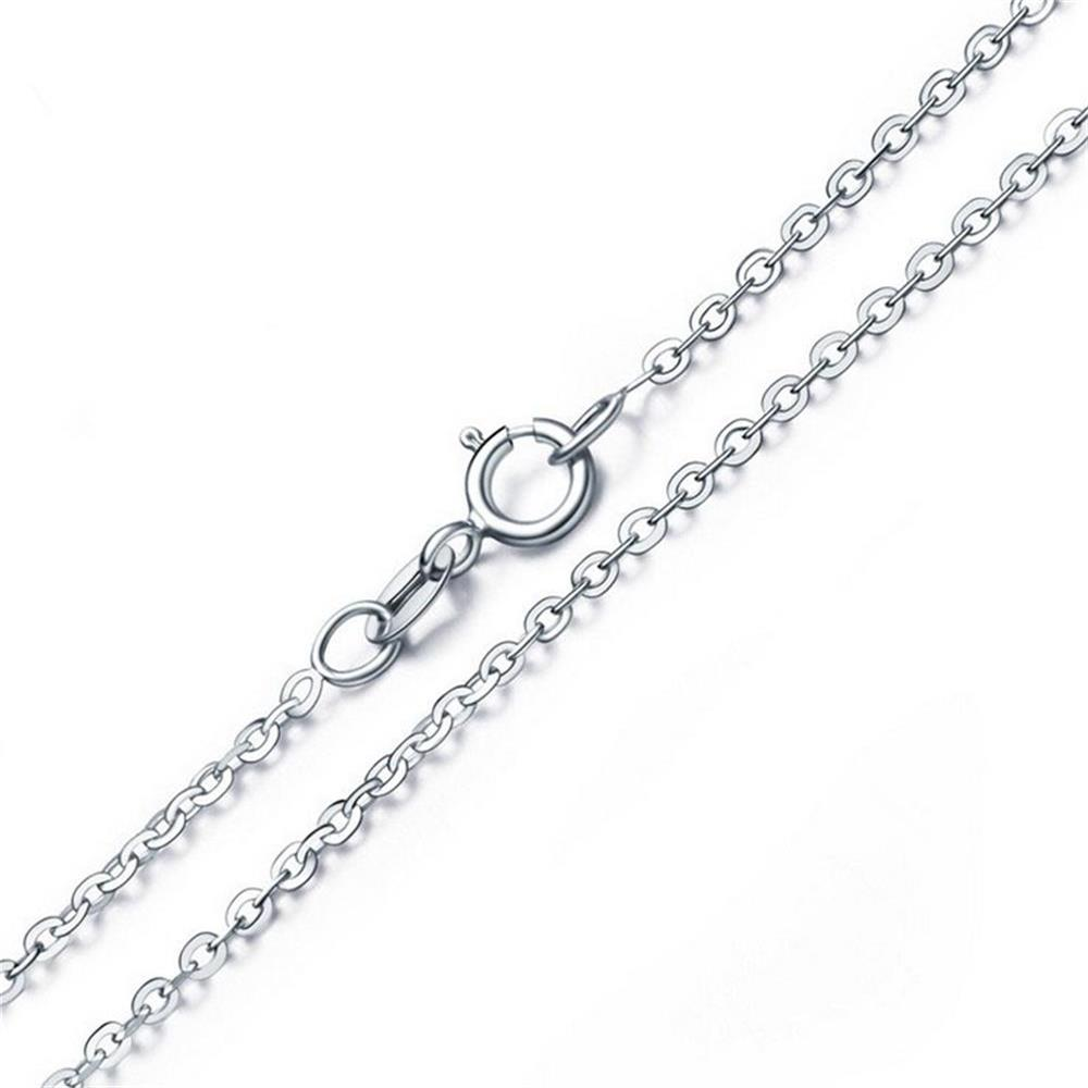 Aceworks 925 Sterling Silver Chain Necklace for Pendants Charms S925 O Chain  16-24 Inch Womens Mens Jewelry Gift 872f4a33a3