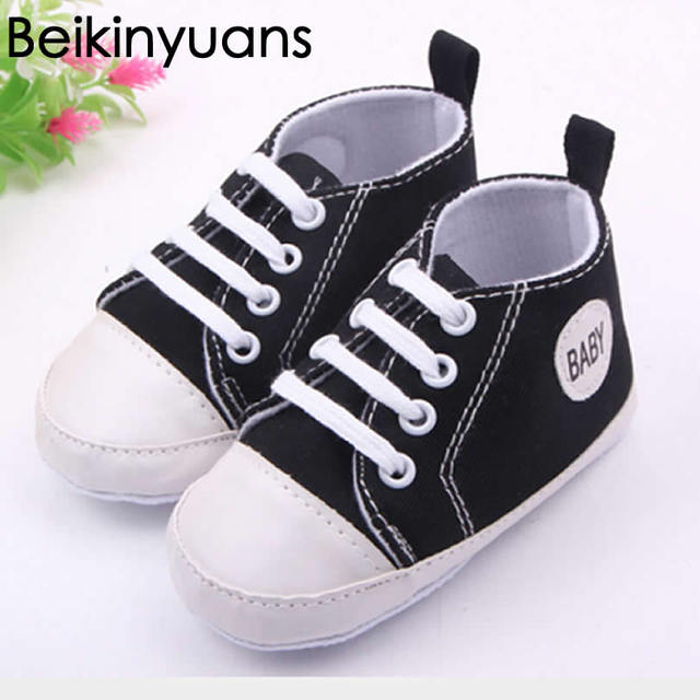 4834c302c Baby Shoes Canvas 0-1 Year Old Kids Children Boy & Girl Sports Shoes  Sneakers Sapatos Baby Infantil Soft Bottom casual shoe