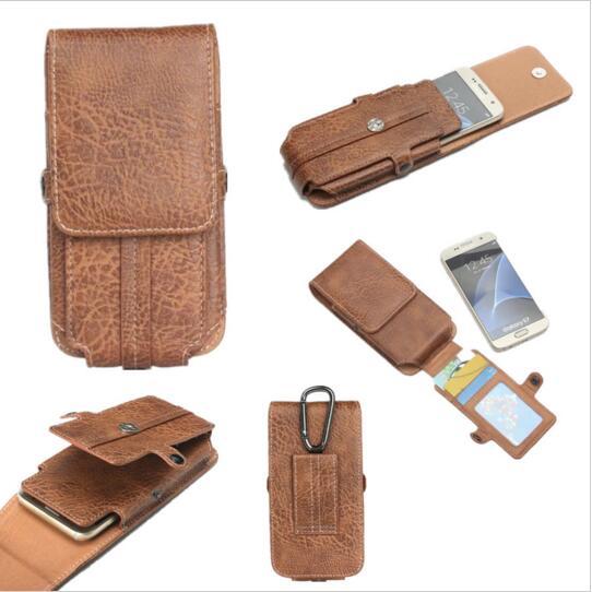 imágenes para 4 Estilo, Cinturón de Cintura Bolsa de Deporte de Calidad SUPERIOR Horizontal + Vertical Funda caja Del Teléfono Móvil Para NOMU S10