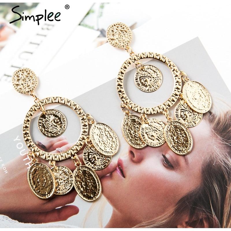modern geometric earrings