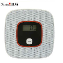 SmartYIBA ЖК-дисплей СО детектор угарного газа сигнализация со датчик домашней безопасности CO сигнализация детектор моноксидо де карбоно
