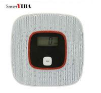 SmartYIBA LCD Display CO Carbon Monoxide Detector Alarm CO Sensor Home Security Alarm CO Alarm