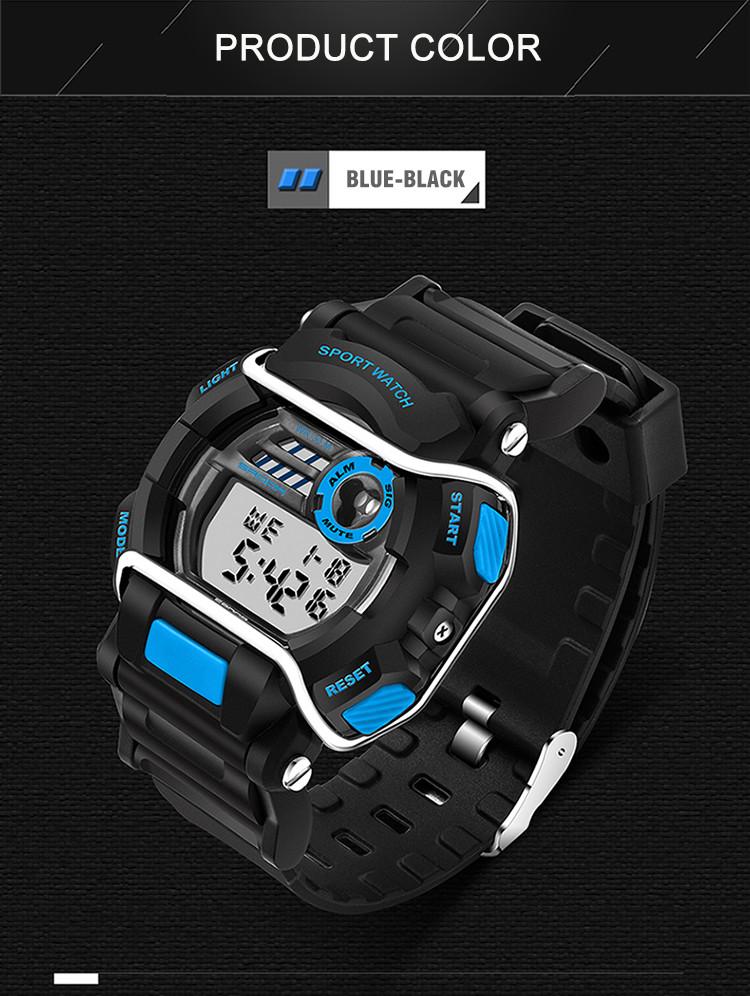 sanda luxury brand led digital watches fashion men\'s sports wristwatches drop shipping (41)