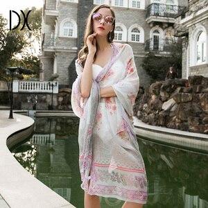 2017 летний однотонный шелковый шарф хиджаб, женские шифоновые шарфы, Солнцезащитная Женская шаль, Женская Роскошная брендовая бандана
