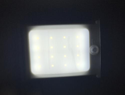 Led Lampen Panel : Solar panel 6 leds lampe bewegungsmelder licht solar powered sensor
