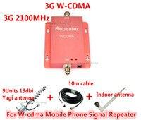 Горячая Распродажа мини WCDMA 2100 мГц 3g повторителя усилитель сигнала UMTS, 3g сотовом телефоне Усилитель сигнала Усилитель ретранслятора + 13dbi ан