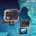 Câmera ação Original H3/H3R remoto Ultra HD 4 K Mergulho câmera Wi-fi 1080 P dual-screen 170D 4 k esporte ir à prova d' água pro câmera