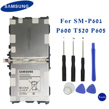 Original Samsung Tablet batería T8220E para Samsung GALAXY Note 10,1 Tab Pro P600 P601 SM P605K SM P607 SM T520 SM T525 8220 mAh