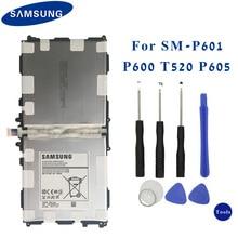 Oryginalny Samsung Tablet baterii T8220E dla Samsung GALAXY Note 10.1 Tab Pro P600 P601 SM P605K SM P607 SM T520 SM T525 8220 mAh