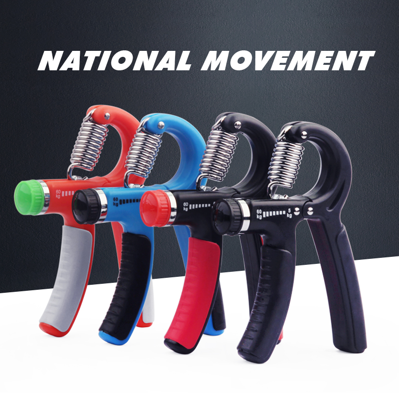 10-60Kg A-Type Adjustable Heavy Grips Hand Fitness Gripper Exerciser Wrist Strength Training Hand Gripper Gym Power Fitness Tool цена