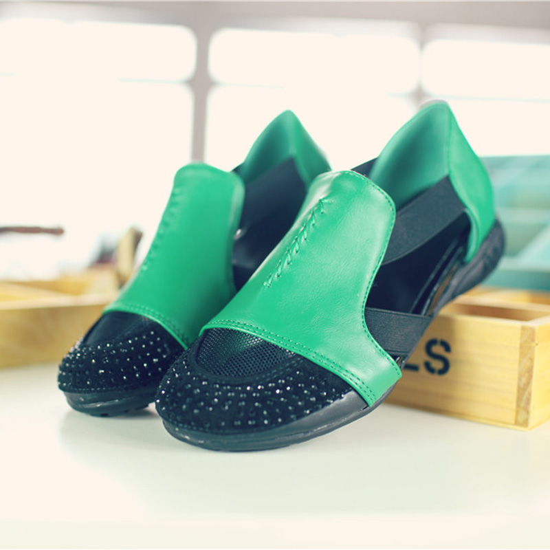 Summer Sandals Women 2018 Lady Yellow Red Shoes Woman Platform Flats Shoes Causal Rhinestone Sandals Roma Female Gladiator Shoes (38)