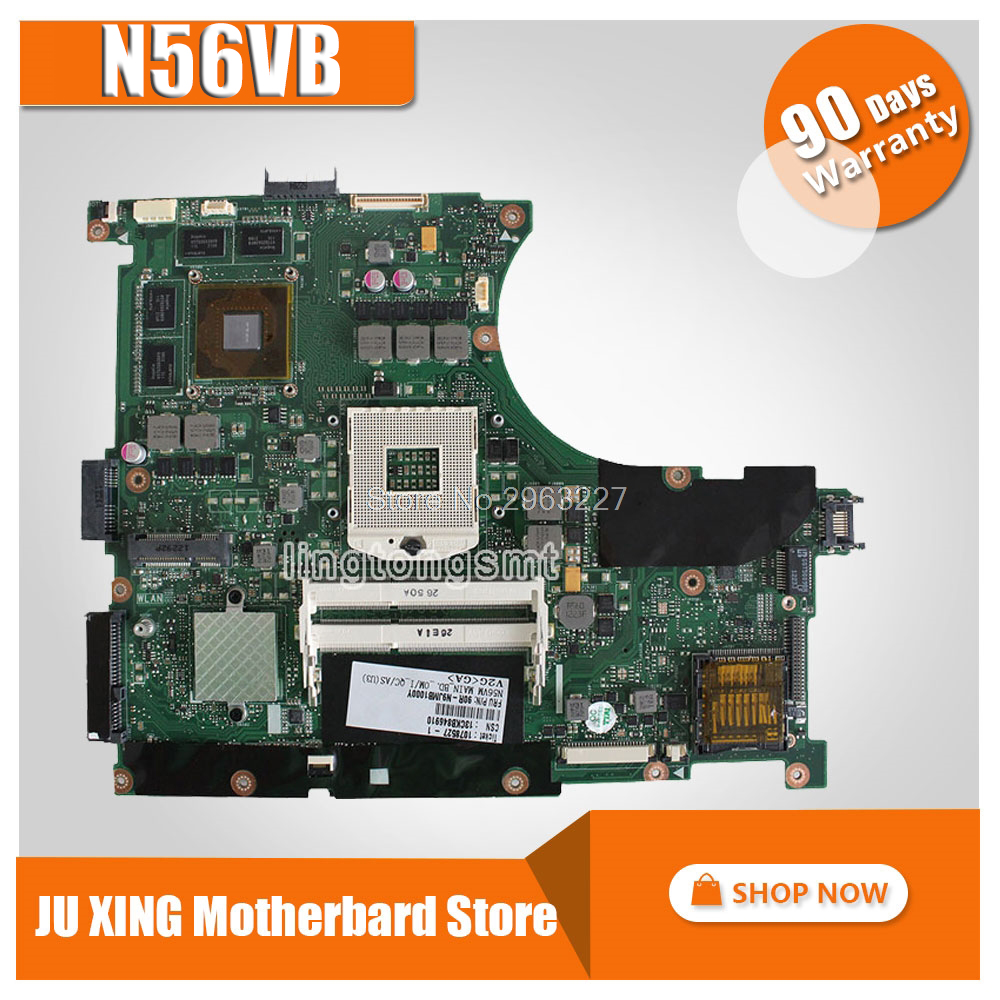 N56VB laptop PM GT740M 4G DDR3 N13P-GLR-A1 REV2.3 Original for ASUS N56V N56VV N56VZ N56V N56VJ N56VJ mainboard motherboard for asus n56vj gt635 2gb rev 2 3 graphic n13p gl a1 laptop motherboard fully tested