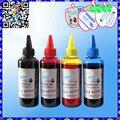4X100ml bulk ink refill kit ( Ink + Syringe ) for HP Lexmark