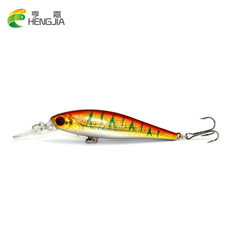 HENGJIA 10 Pieces 9.5CM 10.5G good quality Minnow Fishing ...