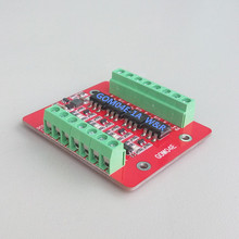 цена на GOM04E-3A 4-way solid state relay module / high or low level trigger / 60V / 3A optocoupler isolated output / level shifting