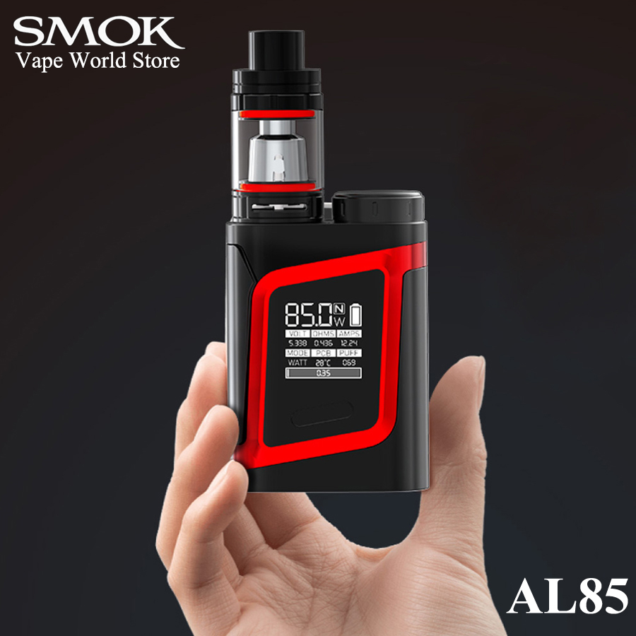 SMOK AL85 Kit Elektronisk Cigarettångare Alien 85W Vape Box Mod E Cigarett Mech Mod Kit VS Mini S067