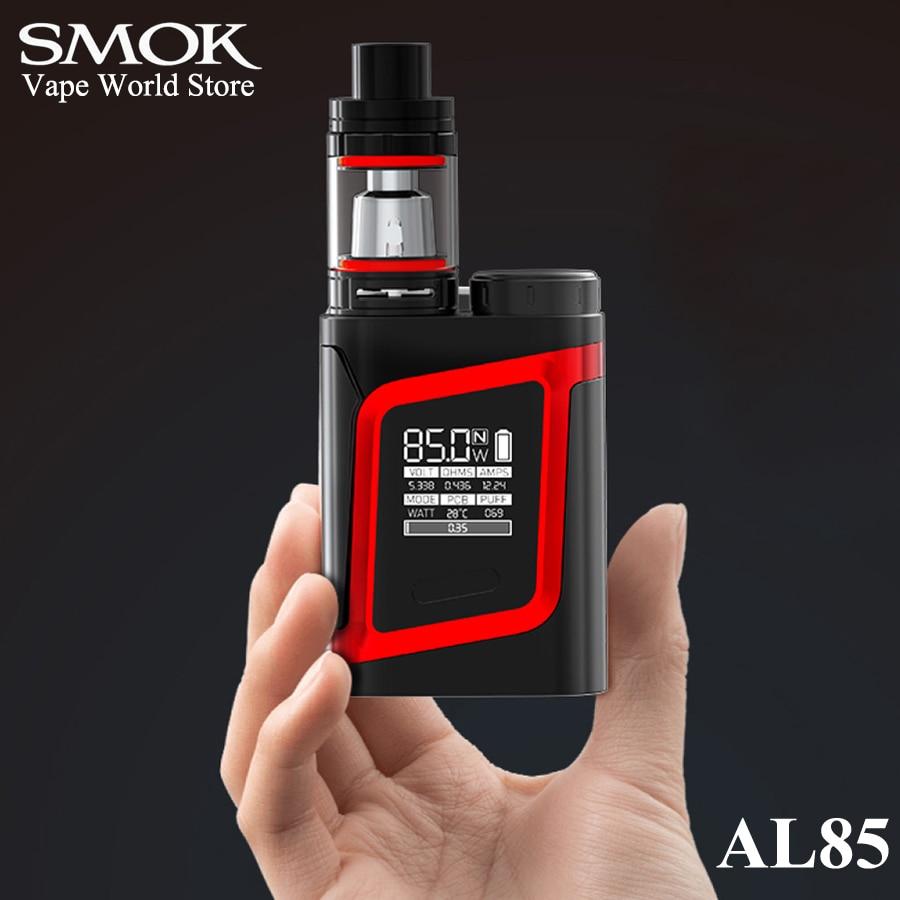 SMOK AL85 Kit Electronic Cigarette Vaporizer Alien 85W Vape Box Mod E Cigarette Mech Mod Kit VS Mini S067