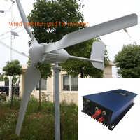 MAYLAR @ 1000 W 24 V turbiny wiatrowej delfin + 1000 W 22-60VDC wiatr inwerter sieciowy