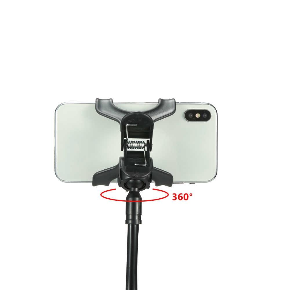 KISSCASE Универсальный держатель для сотового телефона Гибкая длинная рука ленивый зажим держателя телефона кровать планшет смартфон подставка для Xiaomi IPad Телефон